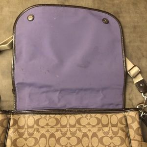 Coach Bags - COACH Coated Canvas Baby Bag Messenger